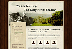 Walter Murray Celebration Website