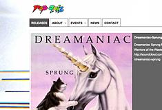 Pop Quiz Records Music Label Website
